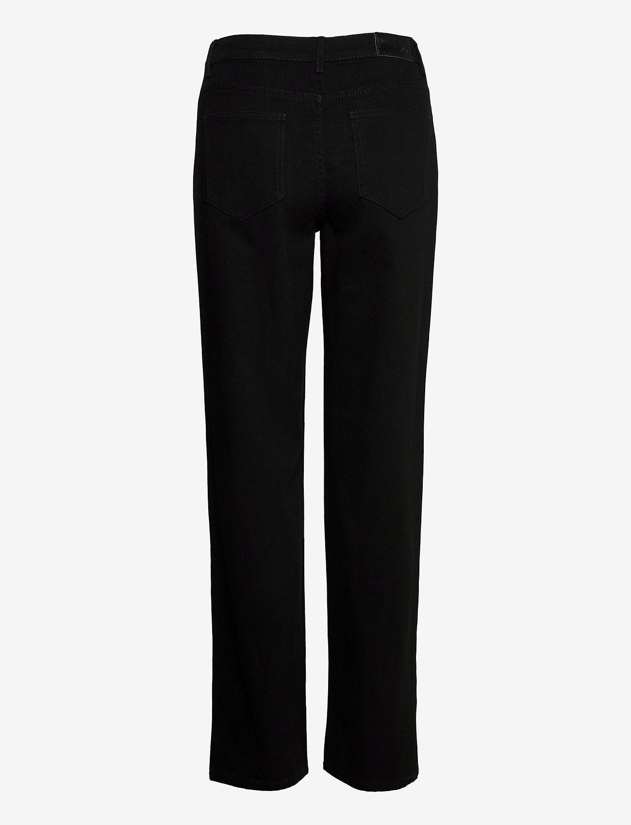 Modström - Elton jeans - mom jeans - black - 1