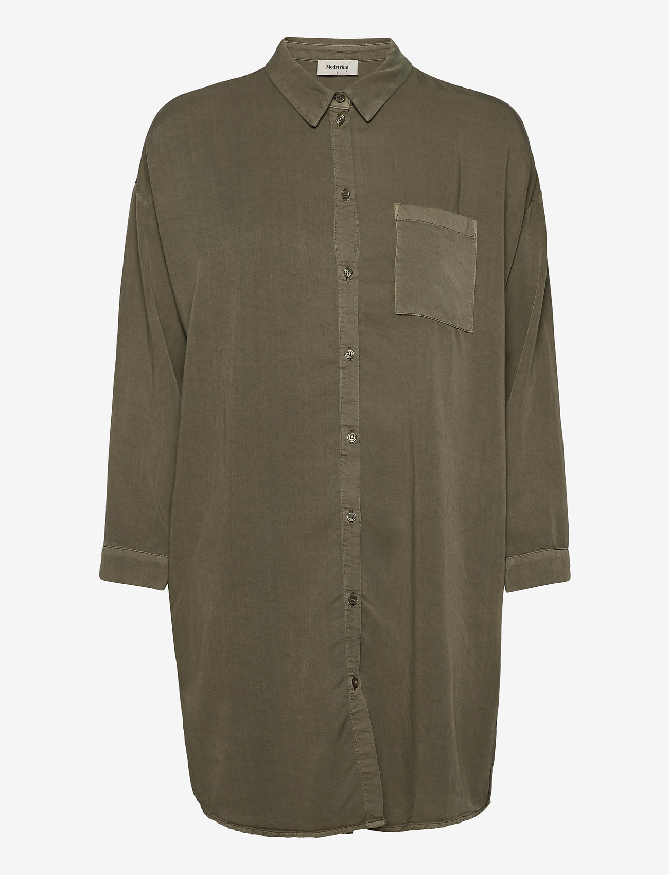 Modström - Evelyn shirt - chemises à manches longues - light khaki - 0