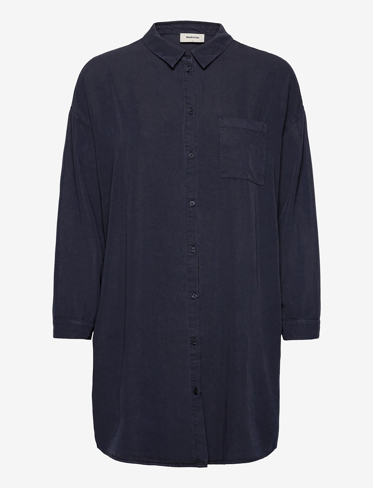 Modström - Evelyn shirt - chemises à manches longues - navy sky - 0