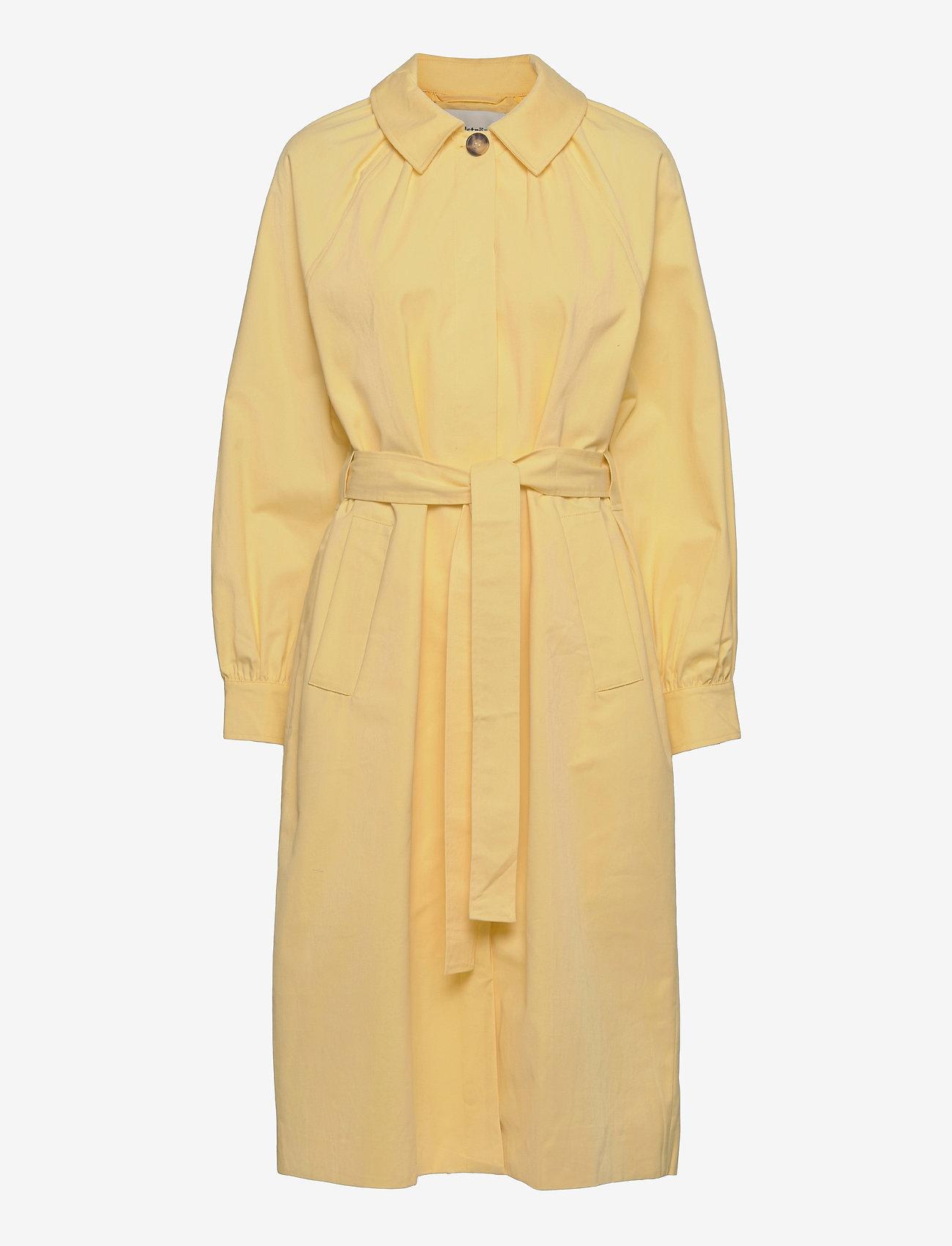 Modström - Helen jacket - trenchcoats - lemon haze - 1