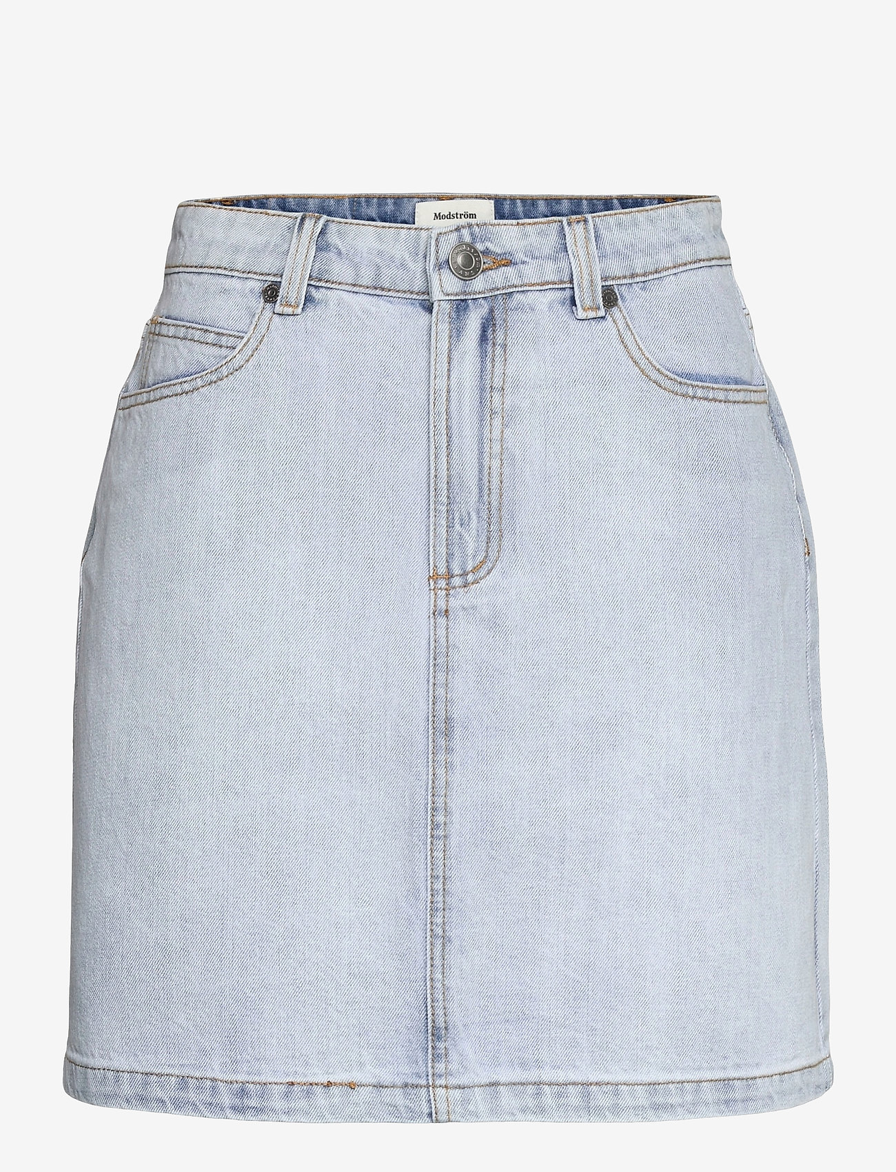 Modström - Ilias vintage blue skirt - jeanskjolar - vintage blue - 0