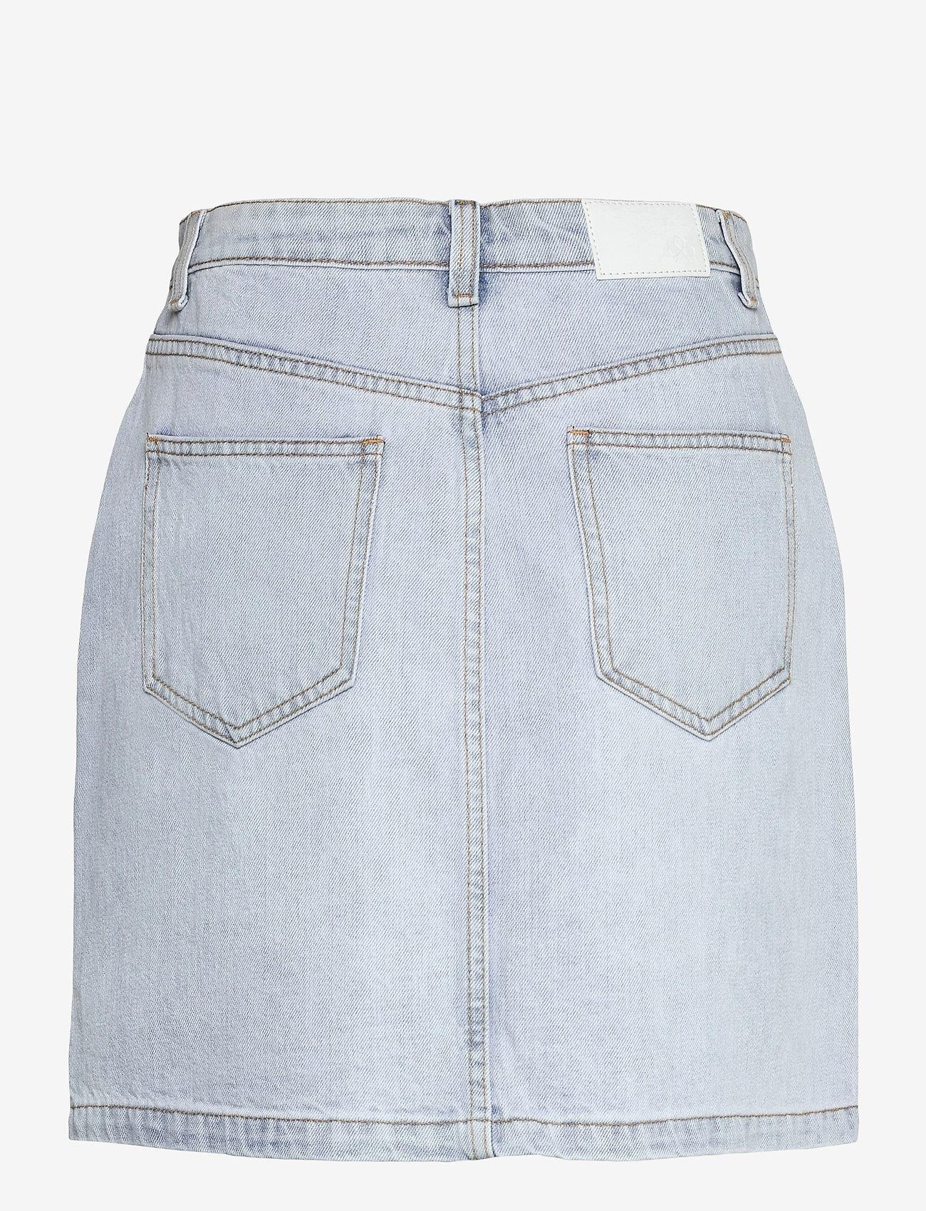 Modström - Ilias vintage blue skirt - jeanskjolar - vintage blue - 1