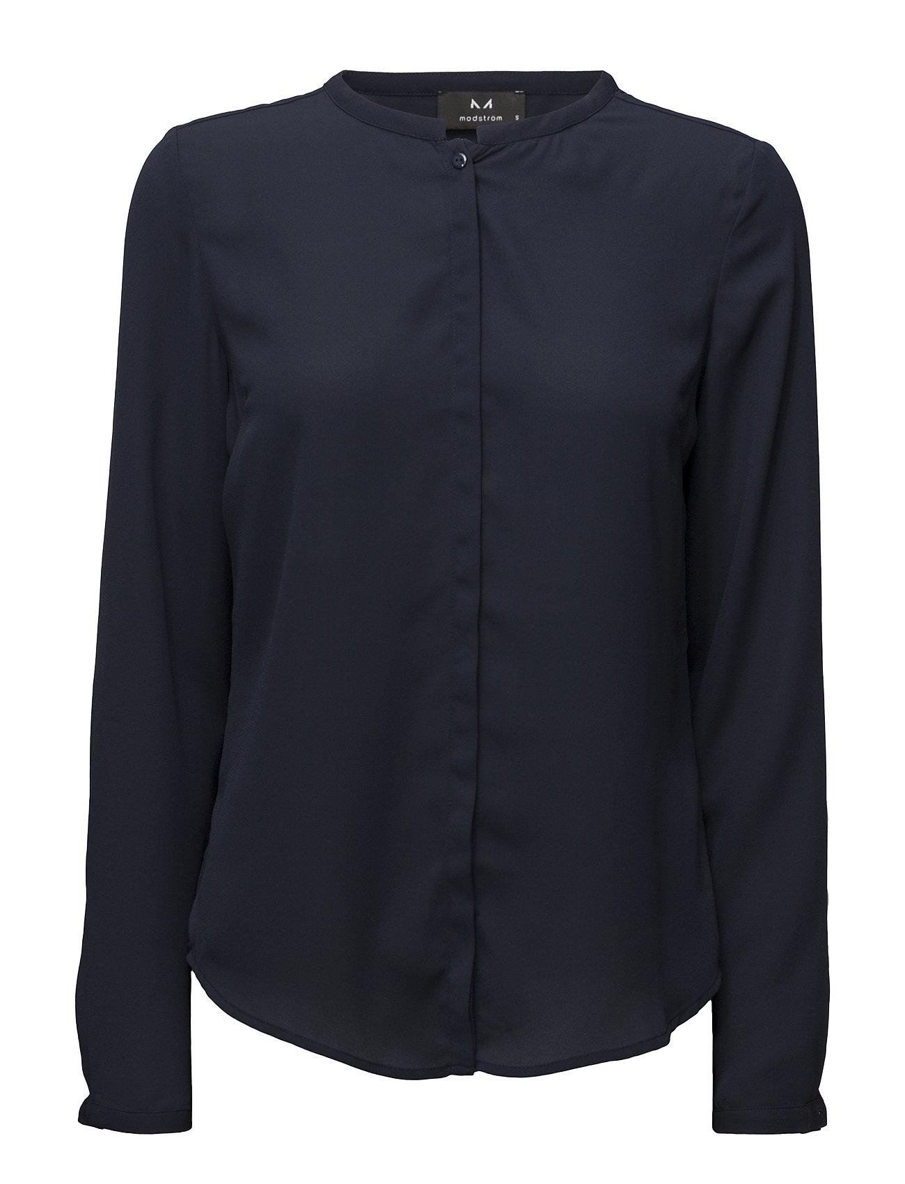 Image of Cyler Shirt Bluse Langærmet Blå Modström (2382471579)