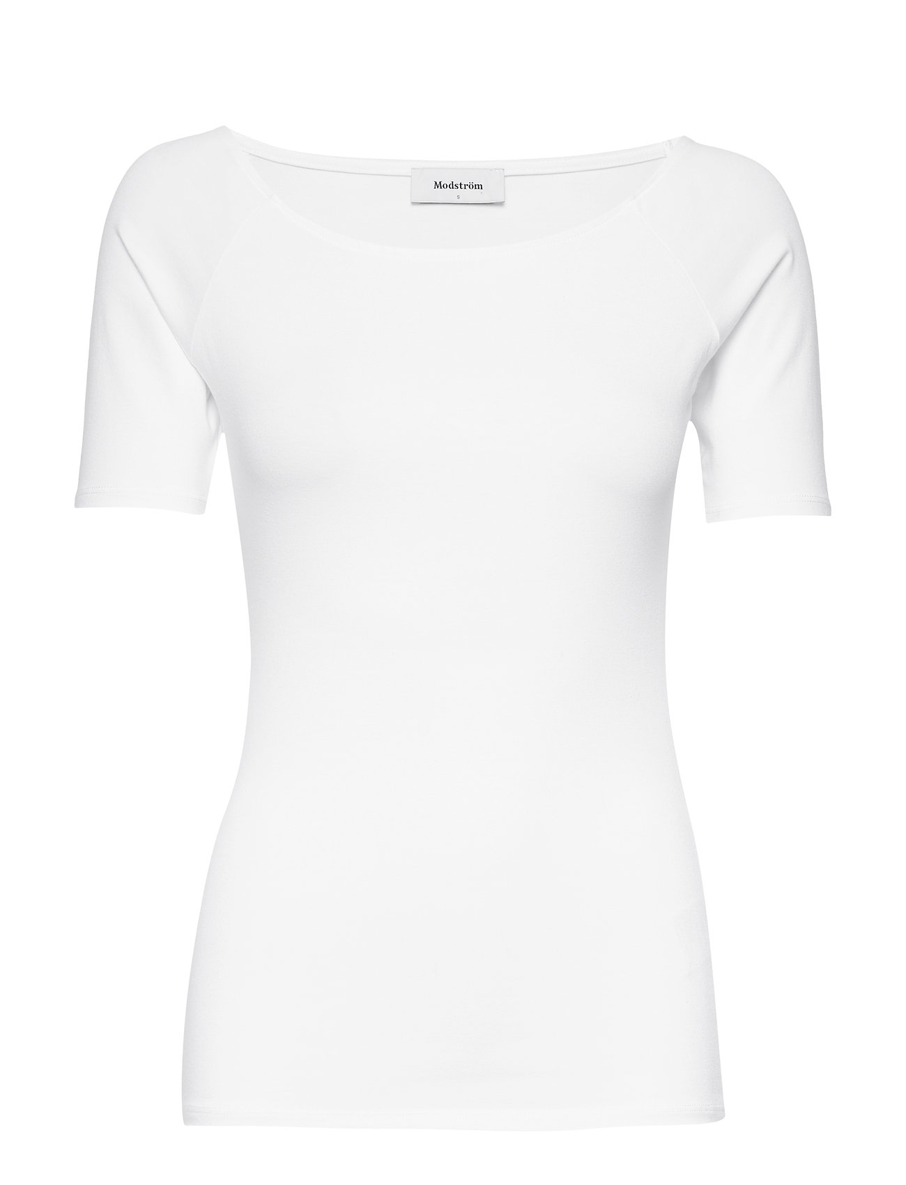 Image of Tansy Top T-shirt Top Hvid Modström (3218387625)