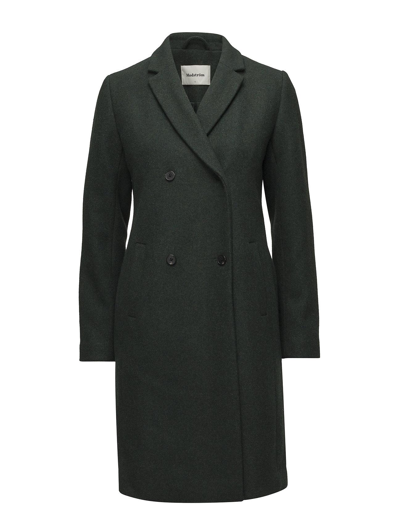 Modström Odelia coat - EMPIRE GREEN