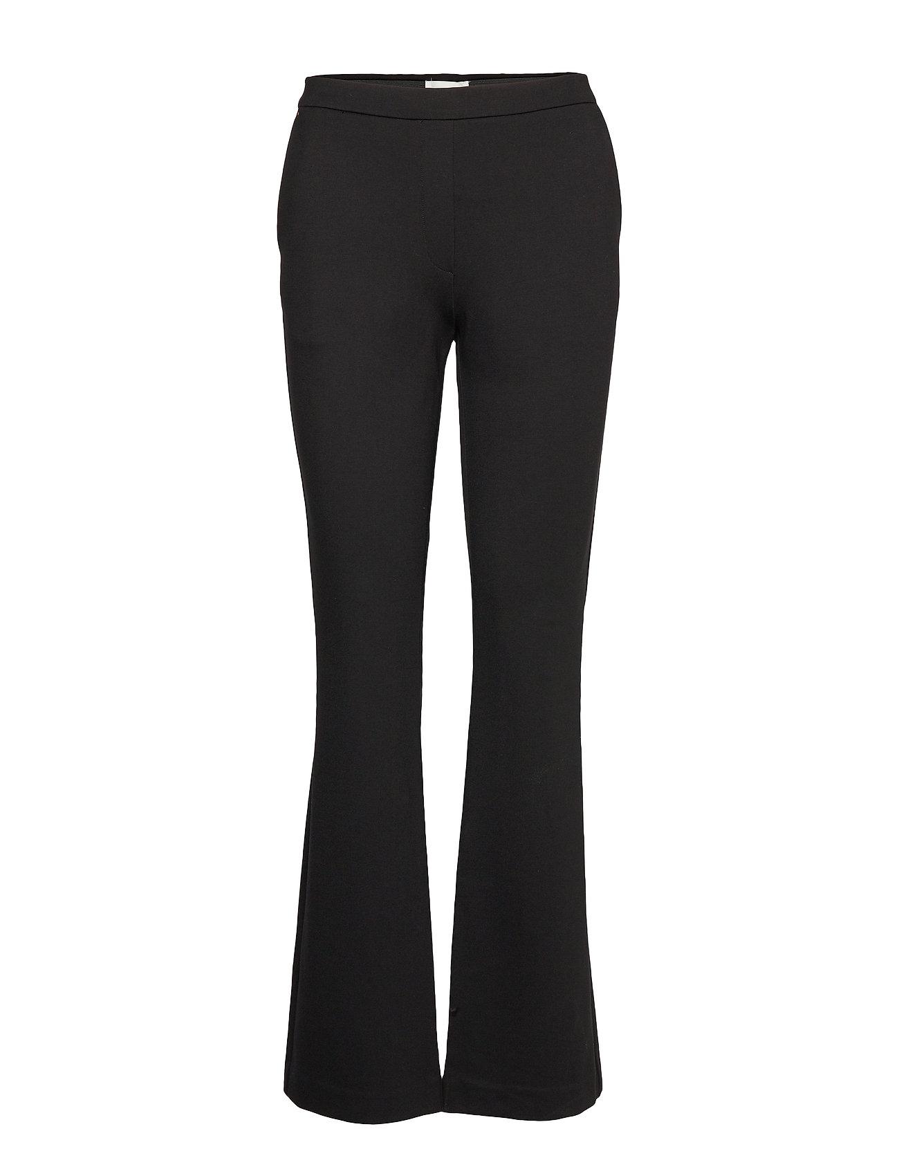 Modström Tanny flare pants - BLACK