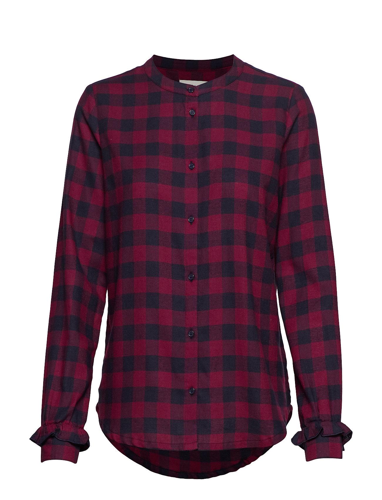 Modström Sedina shirt - RED CHECK