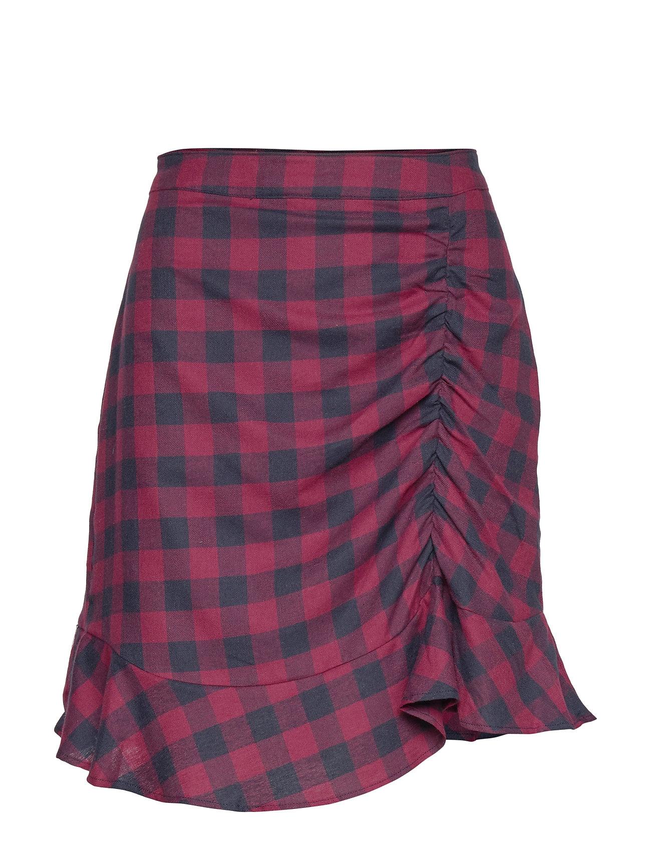 Modström Sedina skirt - RED CHECK