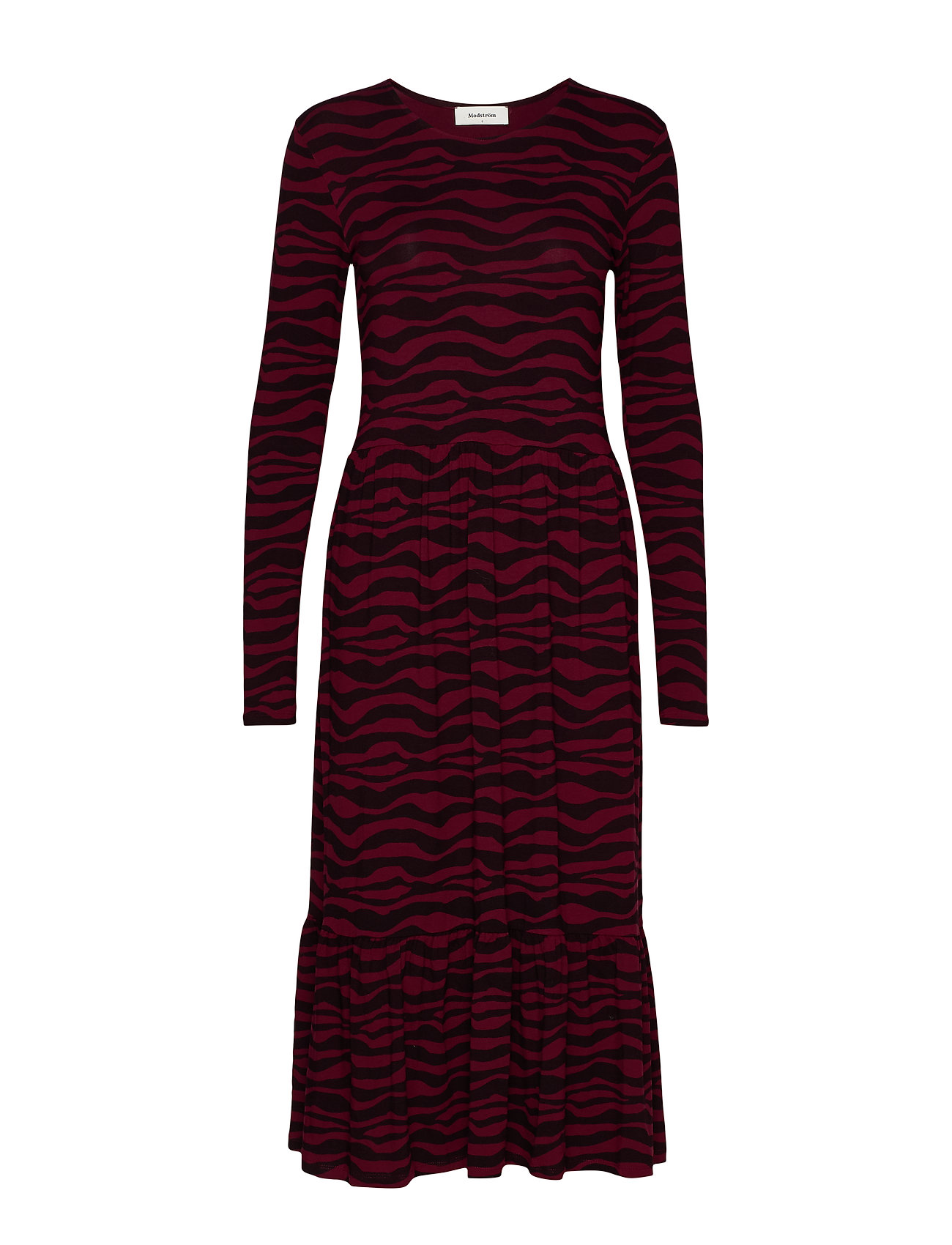 Modström Sitter print dress - ZEBRA LINES