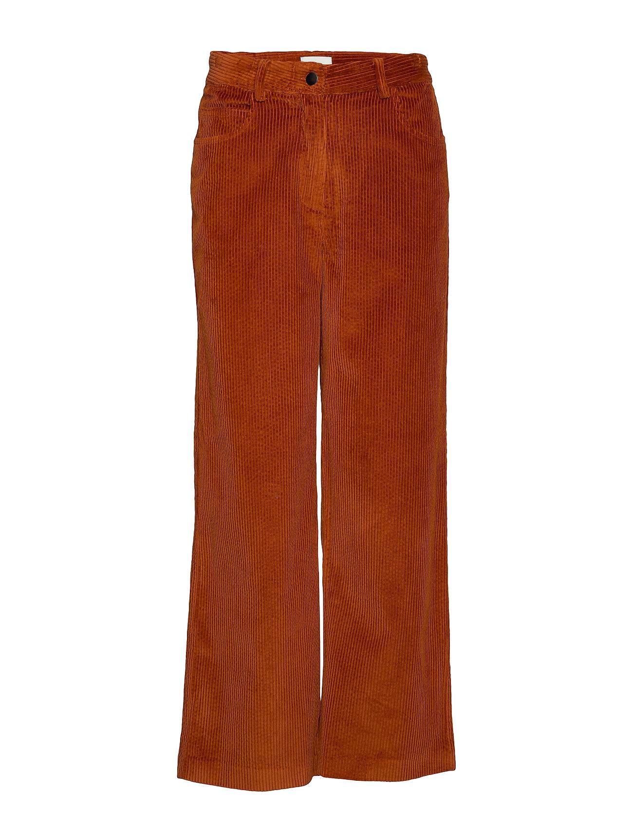 Modström Stefanie pants - GOLD FLAME