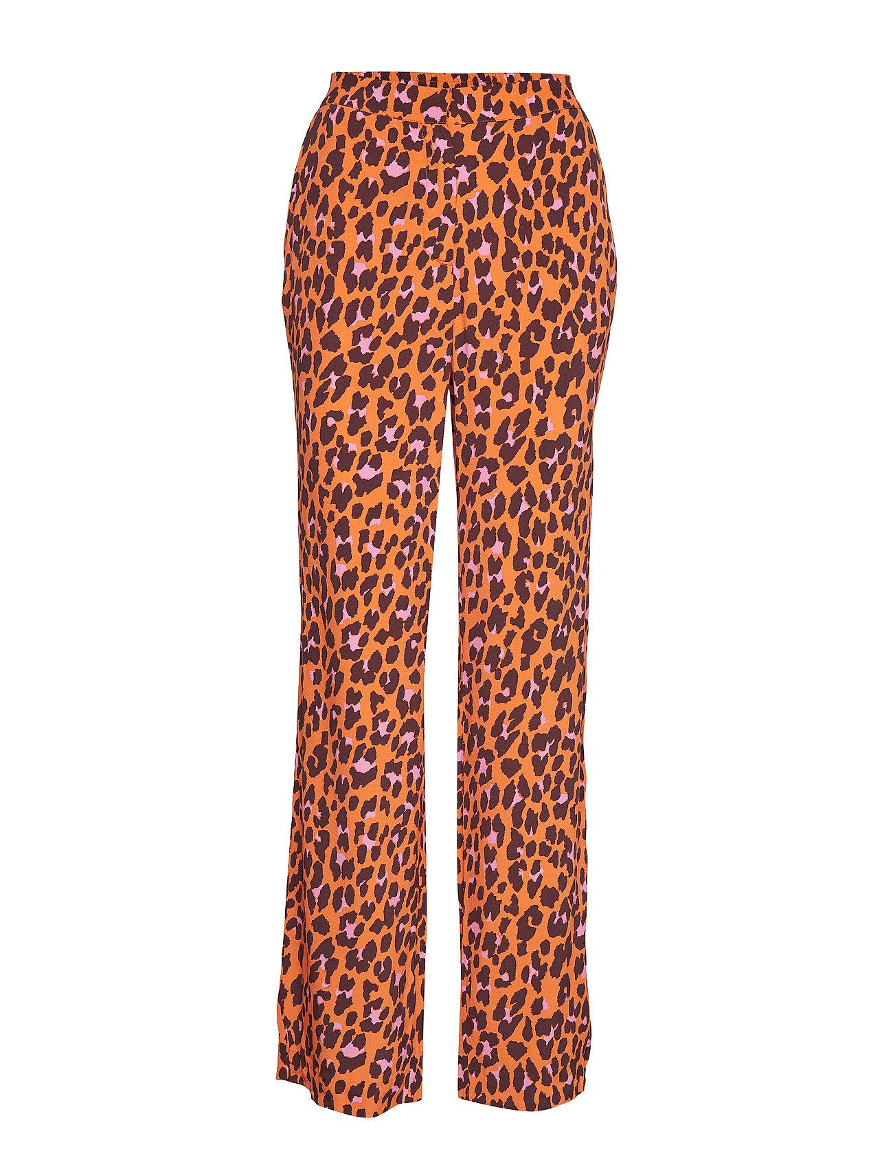 Modström Robbie print pants - COLOURFUL LEO
