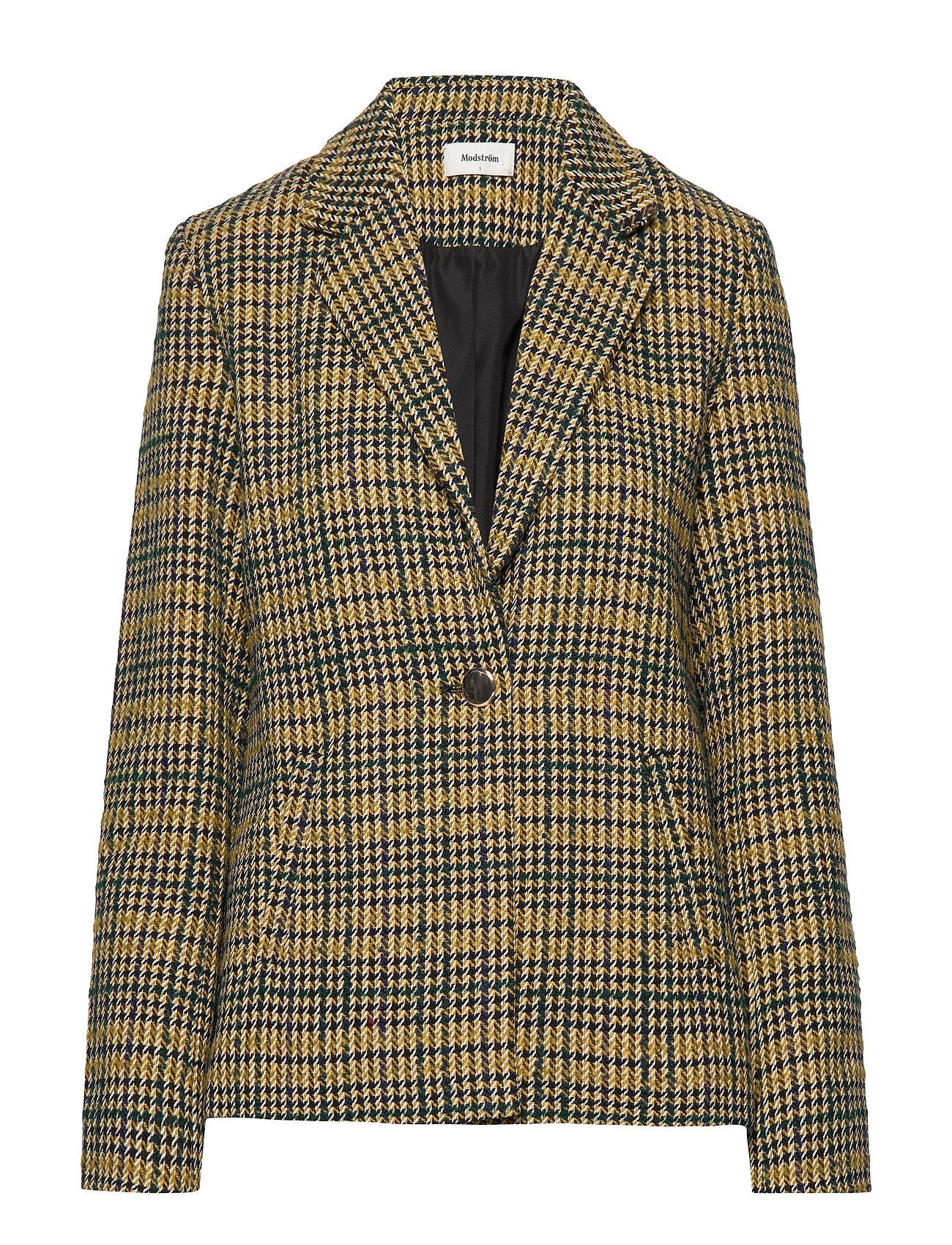 Modström Suko blazer - YELLOW CHECK