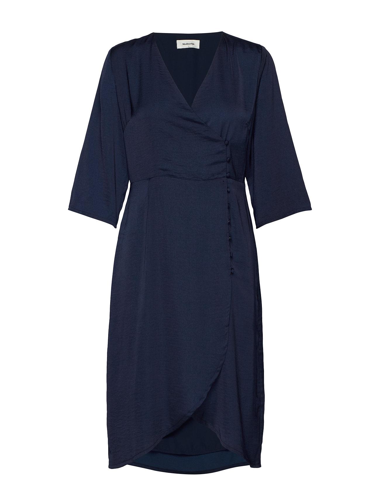 Modström Said dress - NAVY SKY