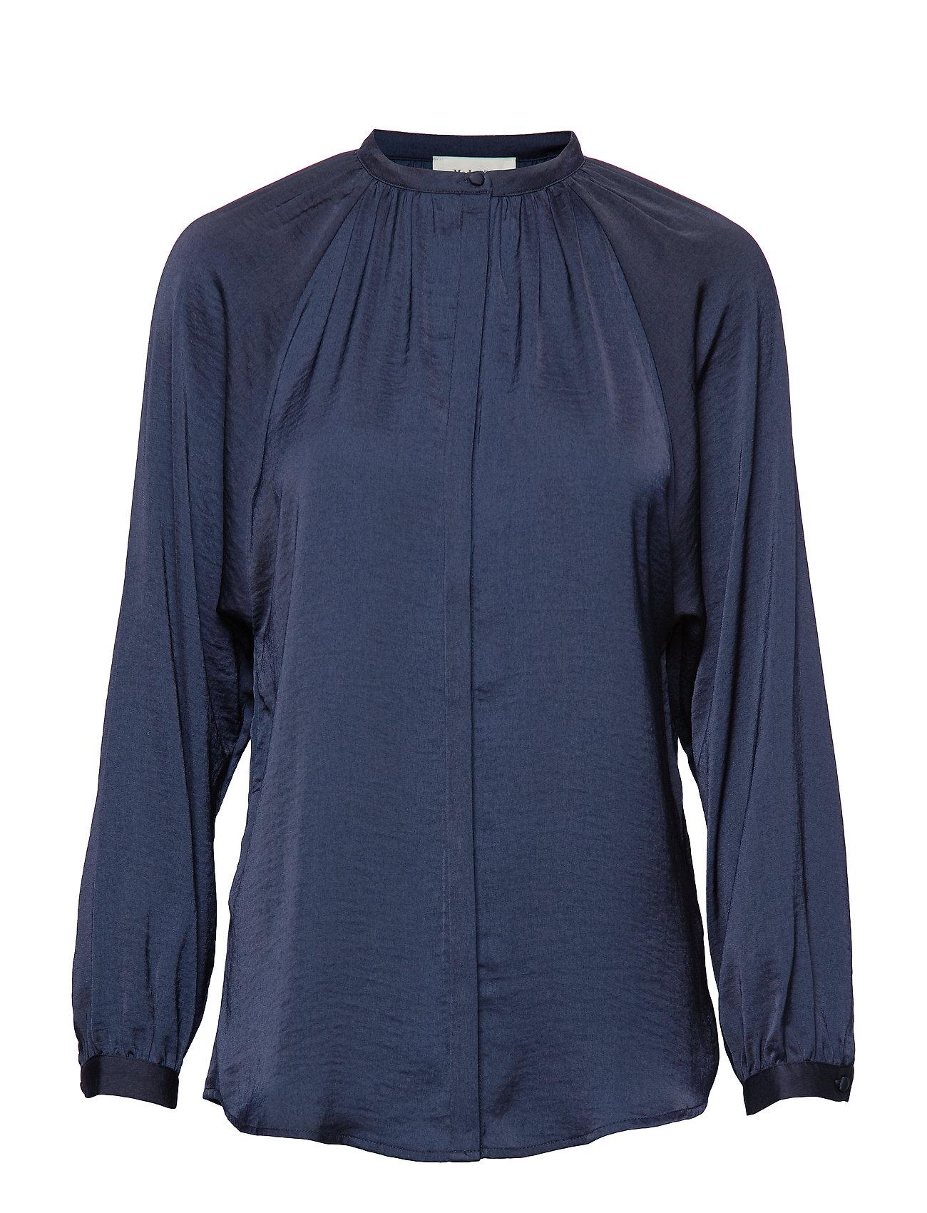 Modström Said shirt - NAVY SKY