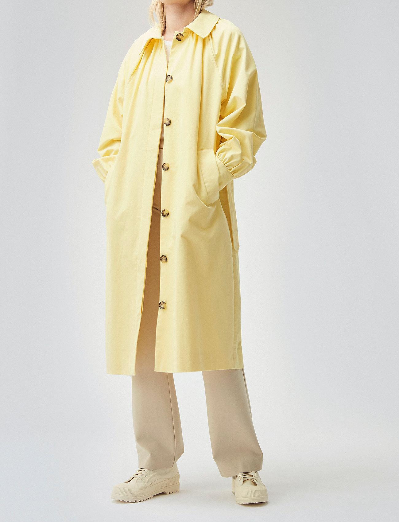 Modström - Helen jacket - trenchcoats - lemon haze - 0