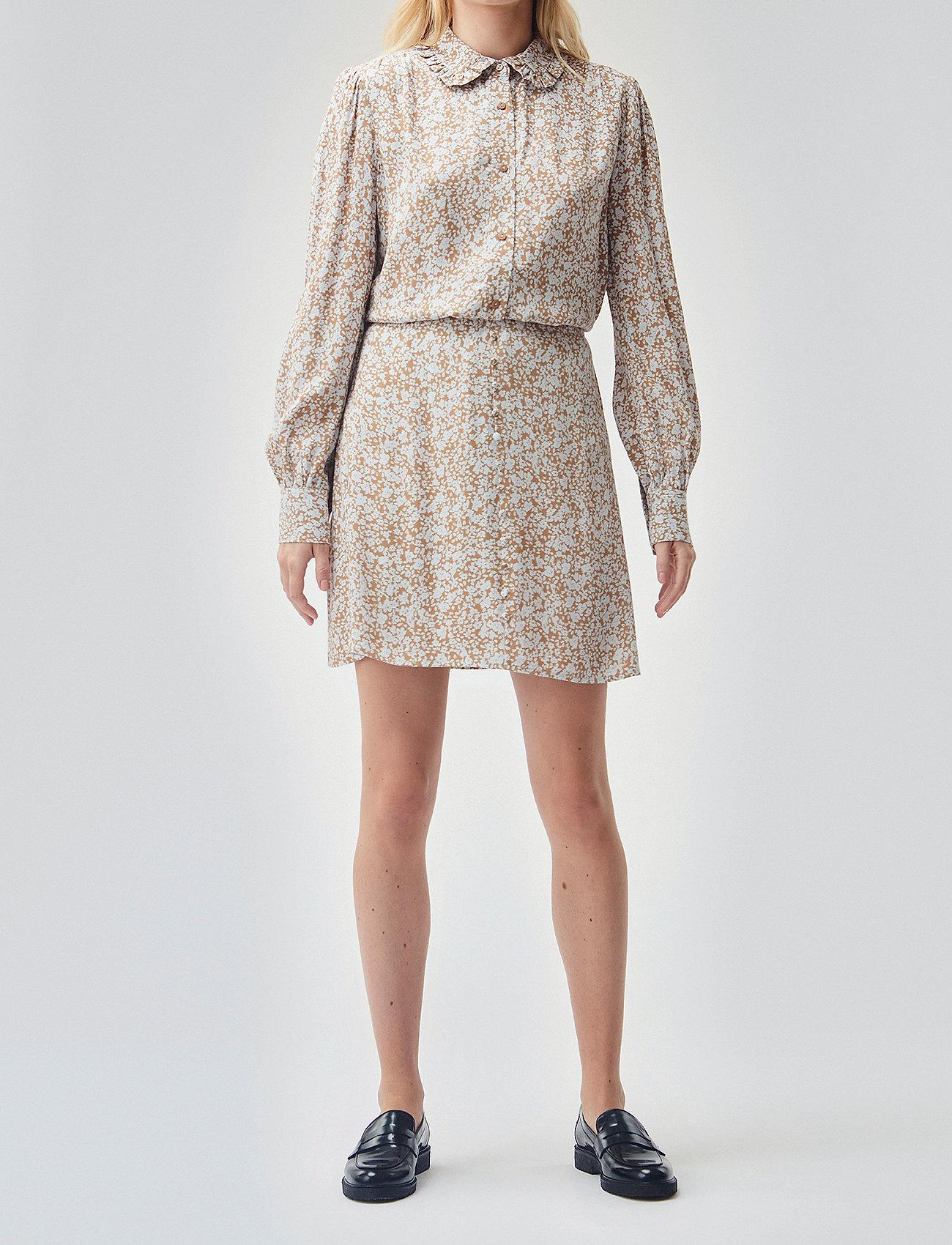 Modström - Isa print skirt - korta kjolar - bluebell - 0