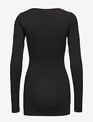 Modström - Turbo - long-sleeved tops - black - 1