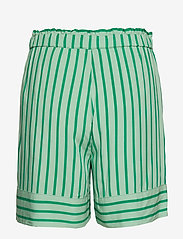 Modström - Otis print shorts - shorts casual - meadow stripe - 1