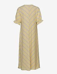 Modström - Clementine print dress - midi kjoler - faded stripe - 1
