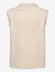 Modström - Valentia vest - knitted vests - off white - 1