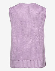 Modström - Timme vest - knitted vests - heather - 1