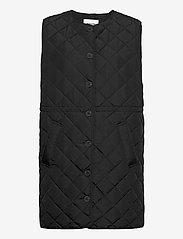 Modström - Hena vest - puffer vests - black - 0
