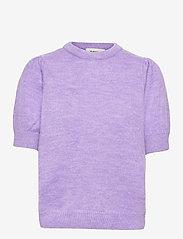 Modström - Juliane o-neck - strikkede toppe - lavender - 0