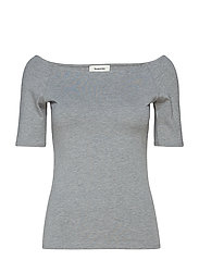 Tansy top - GREY MELANGE
