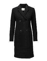 Odelia coat - BLACK