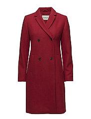 Odelia coat - CHILI PEPPER