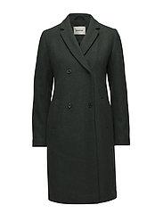 Odelia coat - EMPIRE GREEN