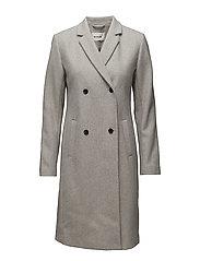 Odelia coat - GREY MELANGE