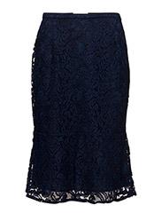 Nela skirt - NAVY SKY/MELLOW BLUE