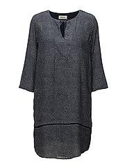 Skipper print dress - TWIRL