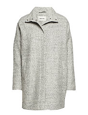 Bonnie coat - GREY MELANGE
