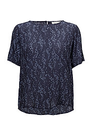 Celina print top - STAR NIGHT