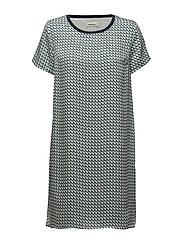Cecilia print dress - RETRO