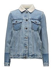 Bibi jacket - VINTAGE BLUE