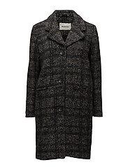 Brooklyn check coat - CHECK