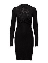 Clay twist dress - BLACK STAR NIGHT