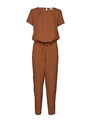 Campell jumpsuit - CHESTNUT