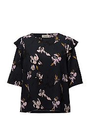 Fria print top - WILD FLOWER