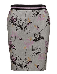 Fabio print skirt - WILD FLOWER MELANGE