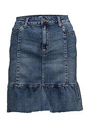 Finola vintage blue skirt - VINTAGE BLUE