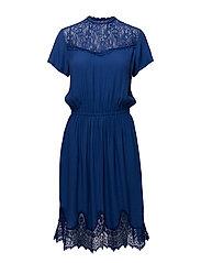 Geranium dress - ROYAL BLUE