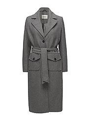 Hector coat - GREY MELANGE