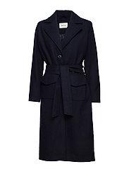 Hector coat - NAVY SKY