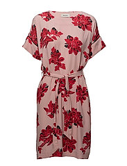 Jacques print dress - ORIENTAL FLOWER