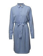 Jaspi dress - AIRY BLUE