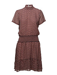 James print dress - HARLEM SQUARE